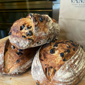 Artisan Raisin Bread Stratford ON